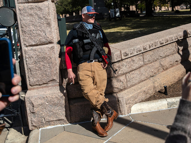 Armed Protesters Gather in Ohio, Texas and Michigan