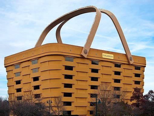 Basket-shaped Newark, Ohio building to become luxury hotel