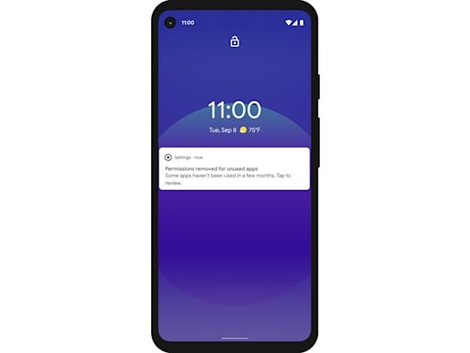 Android 11's auto-reset permissions feature is coming to older versions of the OS