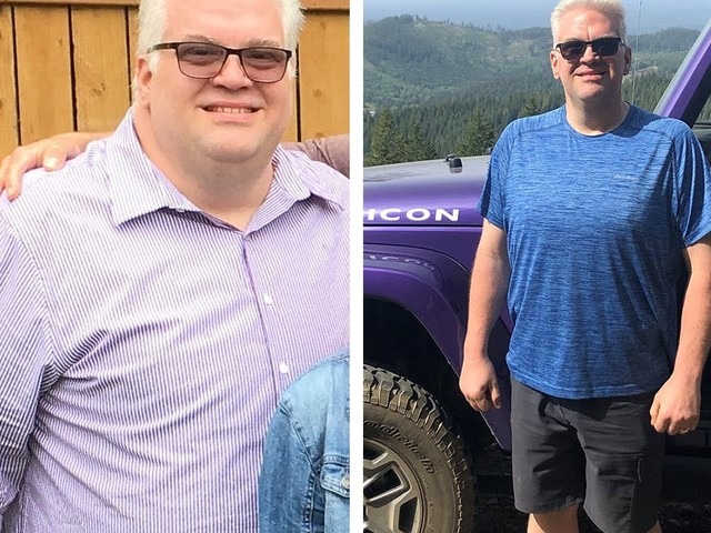 How Brian lost 140 lbs in 12 months