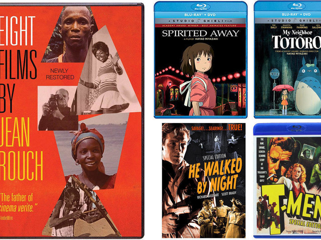 Kenneth Turan's DVD picks: Gift sets featuring films by Miyazaki, Jean Rouch and John Alton