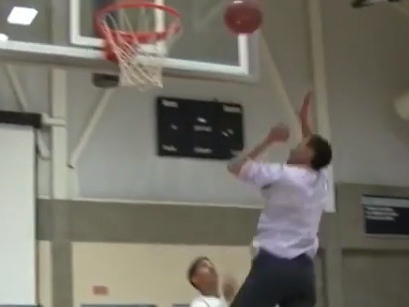 This dunking science teacher is the coolest