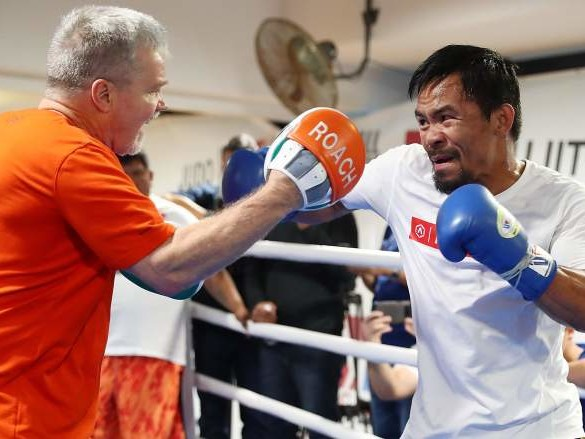 Manny Pacquiao to Middleweight to Challenge Champ? Trainer Says it's Possible