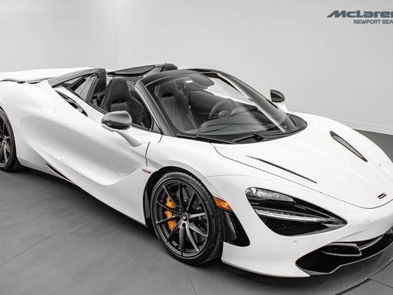 2021 McLaren 720S--Spider Performance