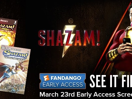 "Fandango Launches Early Access Screenings For ""Shazam!"""