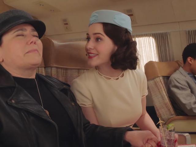 Rachel Brosnahan's Midge Goes on Tour in 'Marvelous Mrs. Maisel' Season 3 Trailer!