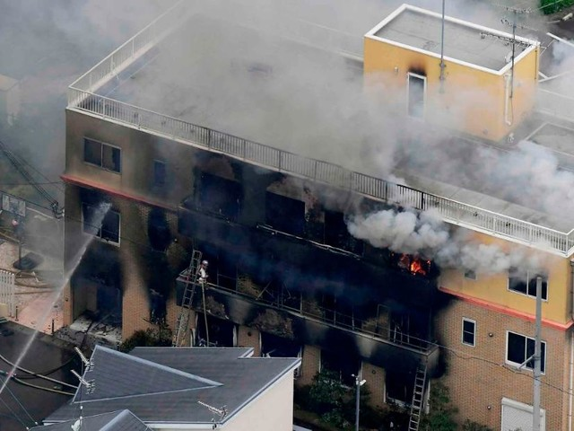 13 feared dead in suspected arson attack in Japanese animation studio
