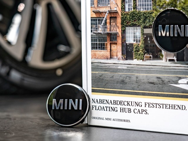 Just Like A Rolls-Royce: Mini Launches Floating Center Caps