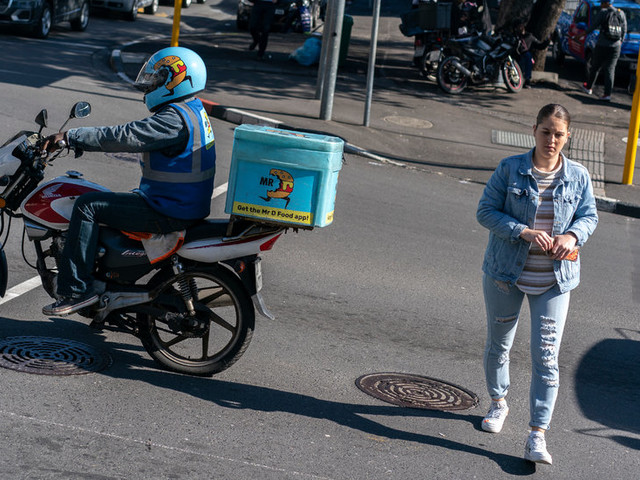 One More Way to Die: Delivering Food in Cape Town's Gig Economy