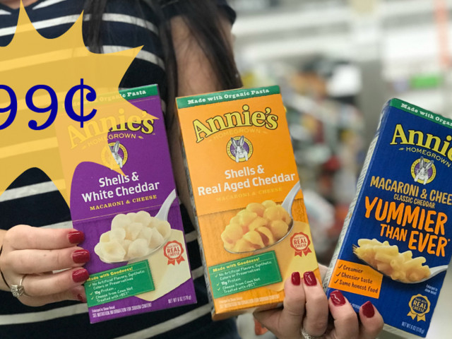 Annie's Natural Mac & Cheese is JUST $0.99 at Kroger!