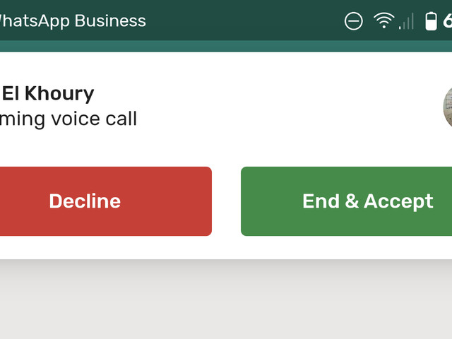 WhatsApp finally adds call waiting, but without call holding (APK Download)