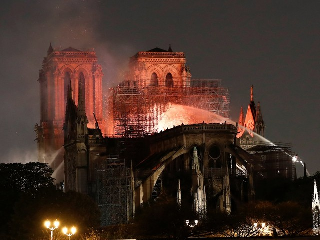 Donations to help rebuild the Notre Dame Cathedral are already pouring in, and one French billionaire pledged $113 million