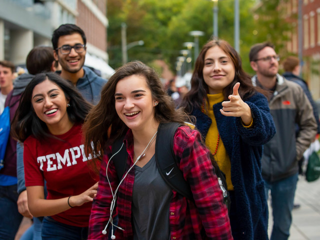 Temple University's exciting opportunities jumpstart the 2019 fall semester
