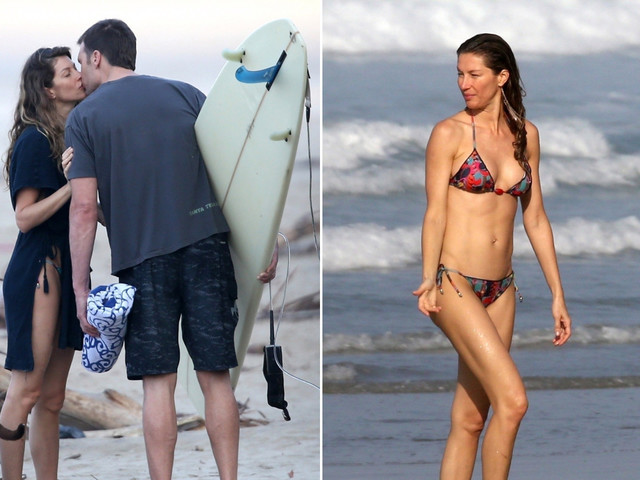 Tom Brady and Gisele Bündchen give us more reasons to envy them