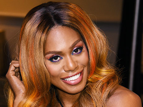 """Laverne Cox Reveals Why Beyonce Is A """"Huge"""" Hair Influence & Inspiration For Her"""