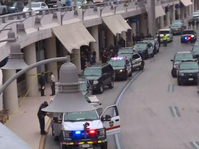 Police kill suspect they say began 'shooting indiscriminately' at people outside San Antonio airport