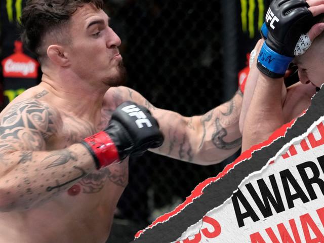 UFC Vegas 36: Brunson vs. Till - Unofficial Awards