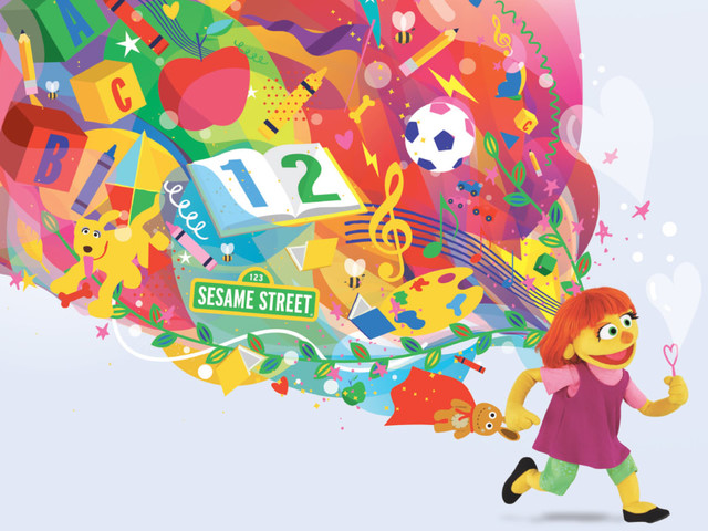 Julia, Sesame Street's autistic muppet, has a new campaign to help teach parents about autism