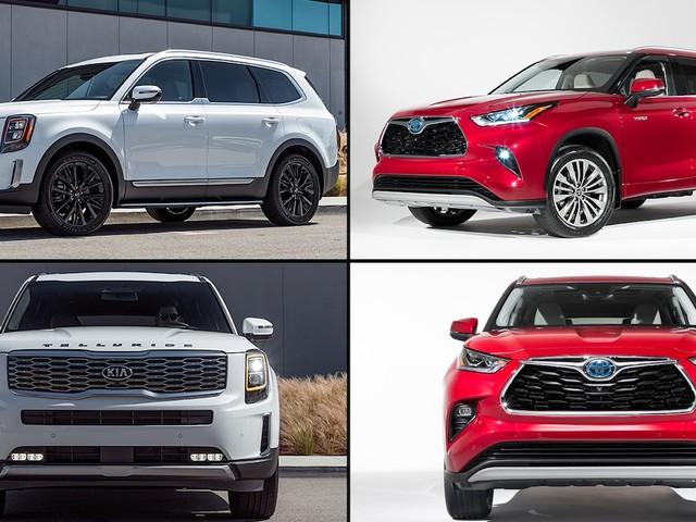 Refreshing or Revolting: 2020 Kia Telluride vs. Toyota Highlander