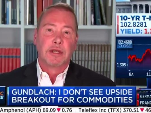 "Gundlach Warns Dollar Is ""Doomed"", Stocks Are At ""Nosebleed"" Levels"