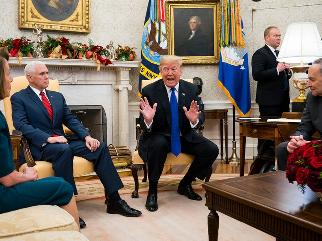 On Washington: Playing by His Own Rules, Trump Flips the Shutdown Script