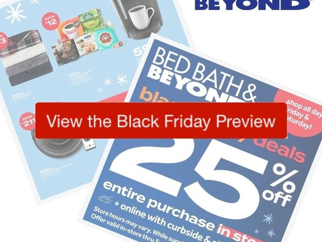 2020 Bed Bath & Beyond Black Friday Ad