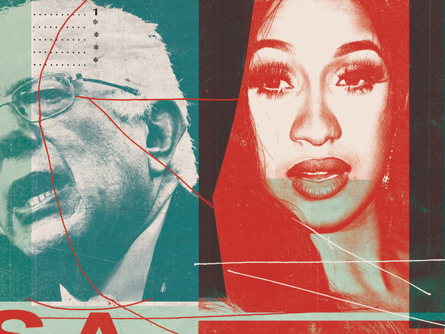 What Can a Star Like Cardi B Do for a Politician Like Sanders?