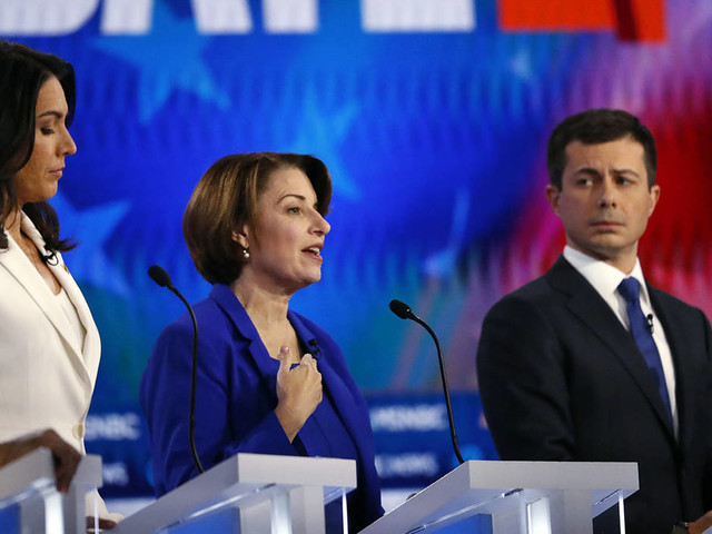 Democrats take on health care at debate, argue how to beat Trump