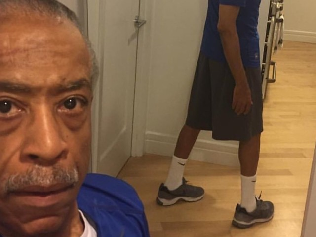 Al Sharpton Defends His Selfies: 'Don't Be Jealous Because I'm So Fit At 62'