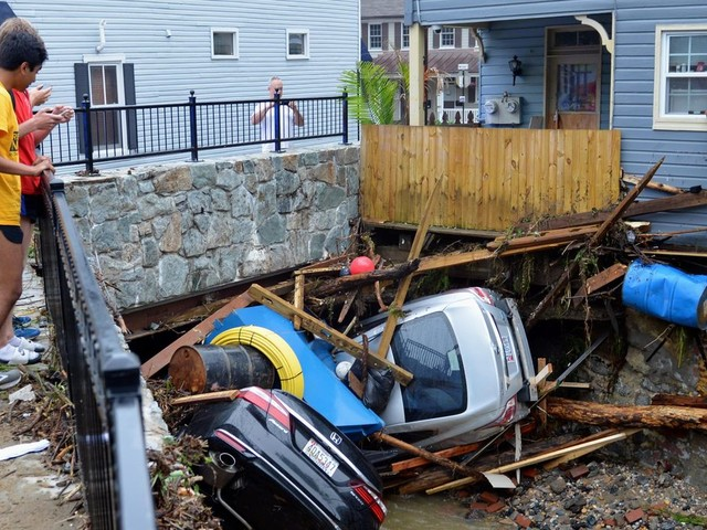 Ellicott City in Maryland to provide update on flood recovery