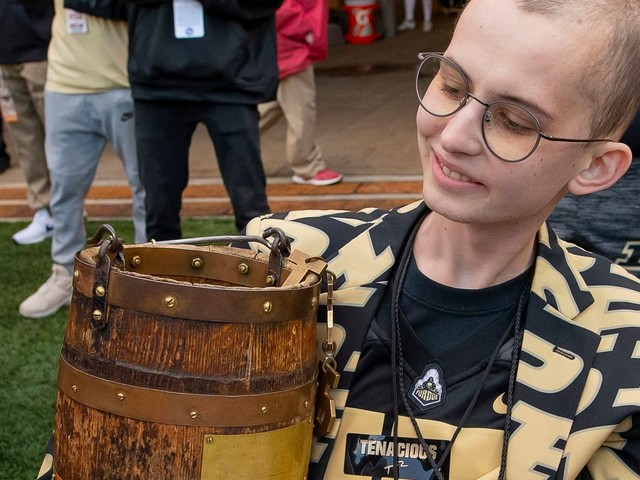 'Now you can rest': Tyler Trent, the inspirational Purdue superfan, dies of cancer at 20
