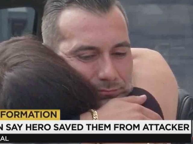 Good Samaritan saves women after man chases them outside bar. But when man rams his truck, good Samaritan has enough — and fires his gun.