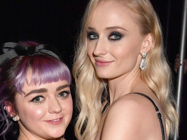 Maisie Williams Just Made A Huge Change To Her Look Before Sophie Turner's Wedding