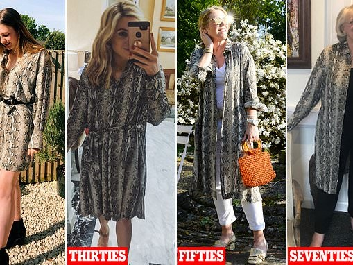 The animal print dress that flatters every age - but who wears it best?