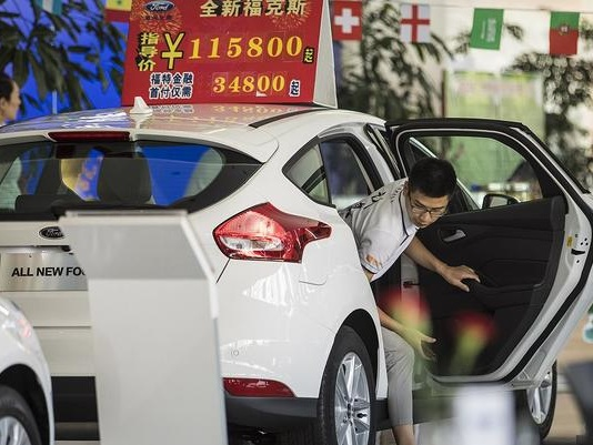 China Car Sales Collapse: First Annual Drop In Over 20 Years