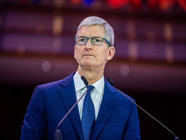Tim Cook defends removing controversial Hong Kong map app from the App Store