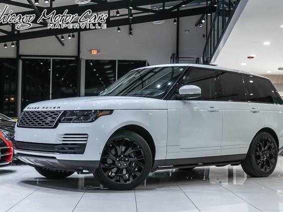 2018 Land-Rover Range--Rover
