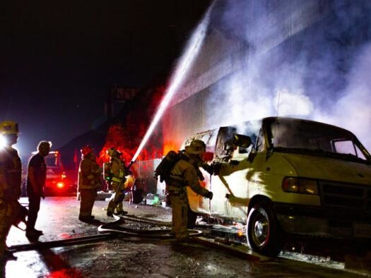 City On Fire: Over Half Of LA County Blazes Caused by Homeless
