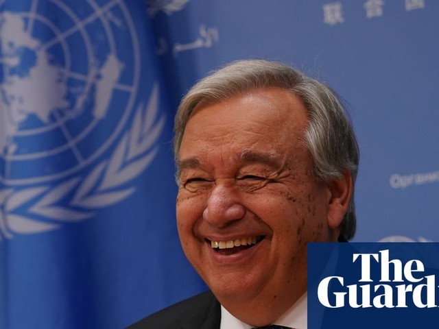 UN secretary general hails 'turning point' in climate crisis fight