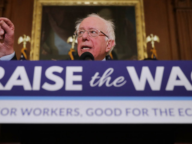 Bernie Sanders' campaign workers demanded $15 minimum wage—so he cut their hours to get them there