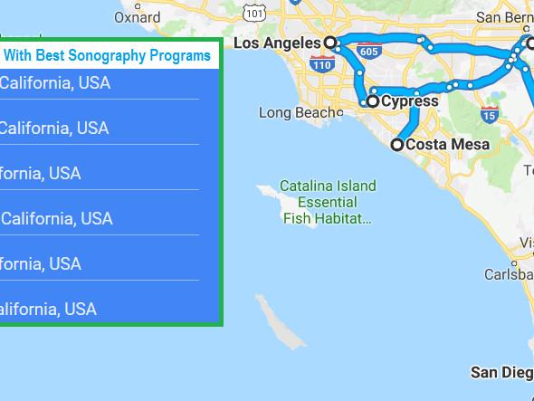 Accredited Ultrasound Technician Schools in San Diego, California