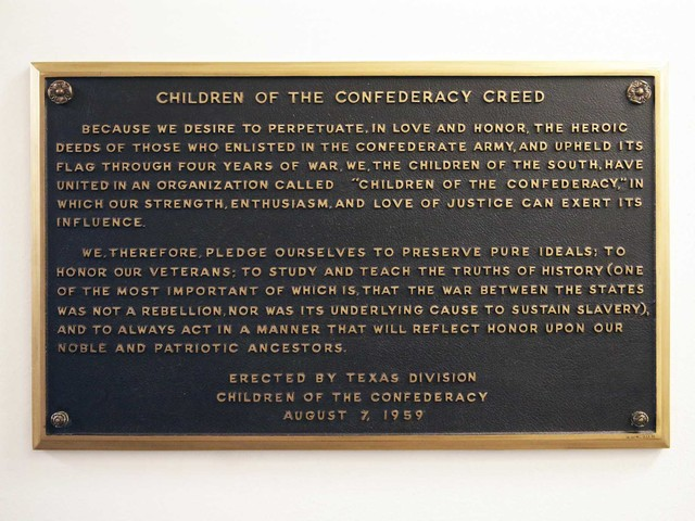 State board votes to remove pro-Confederacy plaque from Texas Capitol