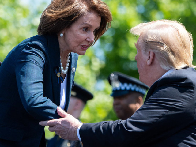 Trump calls 'nervous' Nancy Pelosi a 'disgrace' over reports of her repeatedly calling for his arrest