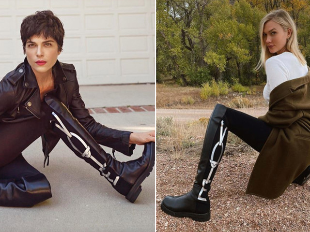 Stuart Weitzman's 'Vote' boots are a celebrity hit