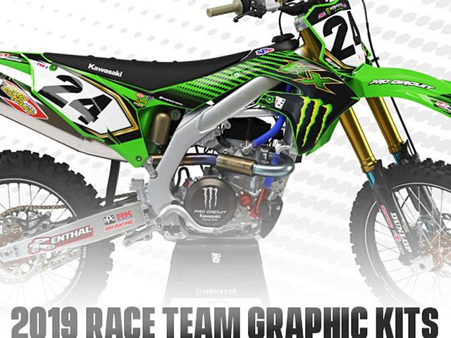 Pro Circuit 2019 Race Team Graphic Kits - New Product