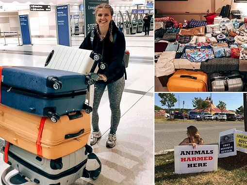 Canadian student Kelsey Trimble travels to Australia to deliver supplies to animals from fires