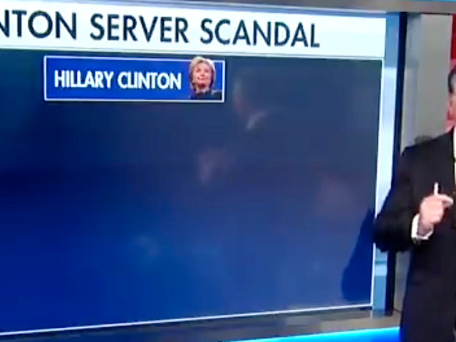 Stephen Colbert Expertly Spoofs Sean Hannity's Hillary Clinton Flow Chart