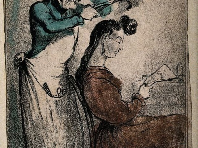 Curling Hair in the 19th Century