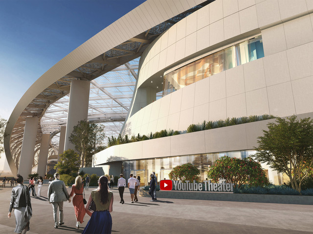 YouTube Theater will be a new 6,000-seat live entertainment arena in California
