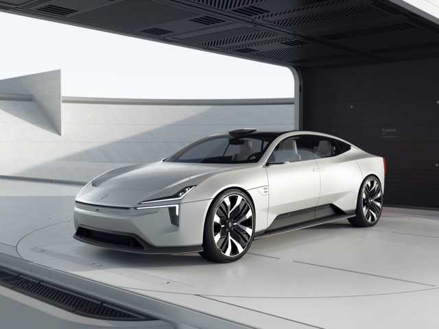 Polestar Precept concept teases striking electric four-door GT
